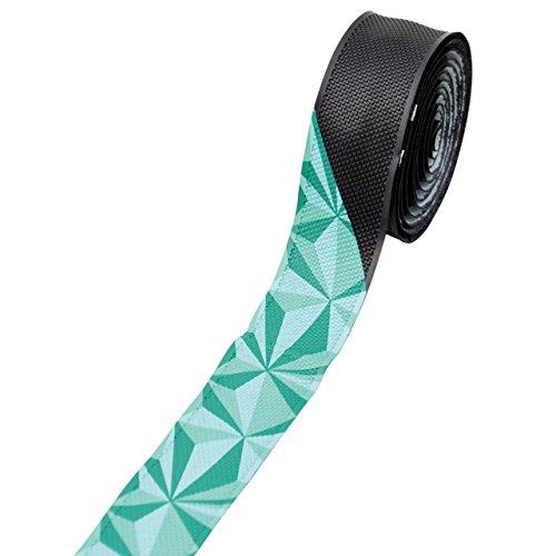 ノグチ(NOGUCHI) ジオメトリックバーテープ [NBT-005] ブラック/グリーン 15183 ブラック/グリーン