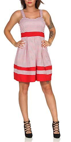 Matyfashion zomerjurk strandjurk cocktail vrijetijdsjurk strepen mini-jurk 11