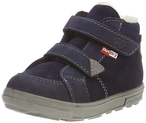 RICOSTA Jungen Knut Hohe Sneaker, Blau (See/Nautic 176), 20 EU