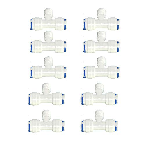purely life depuratore dacqua di plastica tre bocchettone di raccordo a t acqua valvola a tre vie piece sfera passare puro raccordo a t plastica tee assunzione di acqua