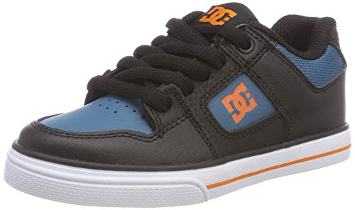 DC Shoes Pure, Zapatillas de Skateboard Niños