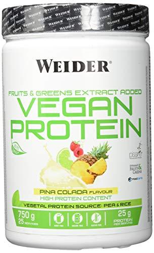 Weider vegane Proteine 750 g (Paquete de 1) weiß