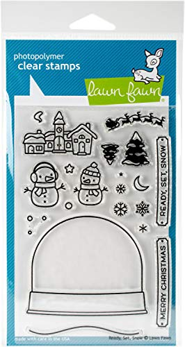 Lawn Fawn Clear Stamps - Ready, Set, Snow (LF973)
