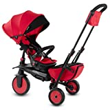 smarTrike 7J Tricycle Évolutif Pliant, Rouge