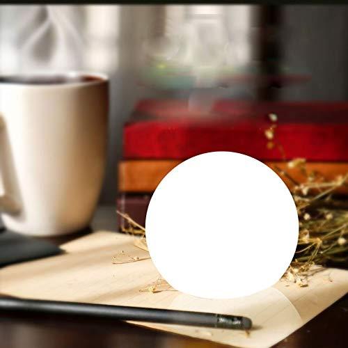VODVO Fernbedienung LED-Kugel-Nachtlicht Innenhauptdekor Tischlampe im Freien Garten-Rasen Hochzeit Globe Bar KTV beleuchtet (Emitting Color : 15X15X15 cm)