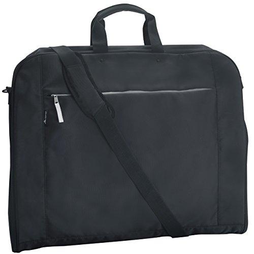Alpamayo® bolsa para trajes, funda para ropa con compartimento para laptop/portátil y correa para hombro, ideal para transportar trajes sin arrugas como equipaje de mano durante viajes o en una maleta