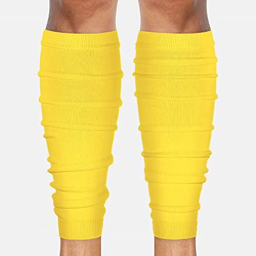 SLEEFS Hue Yellow Football Leg Sleeves