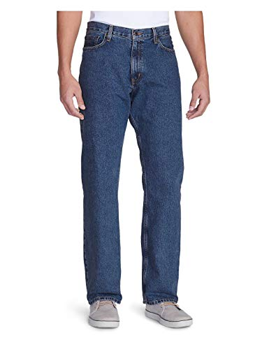 Eddie Bauer Hombre Relaxed Fit Essential Jeans