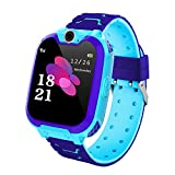 Smart Watch for Kids, TKSTAR Kids Waterproof Smartwatch with SOS Anti-Lost Touch Screen,Alarm