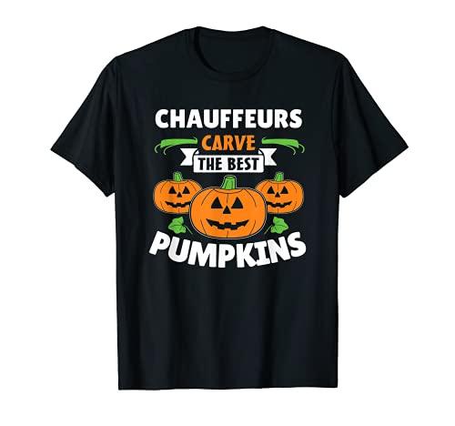 Disfraz de chfer de Halloween Camiseta