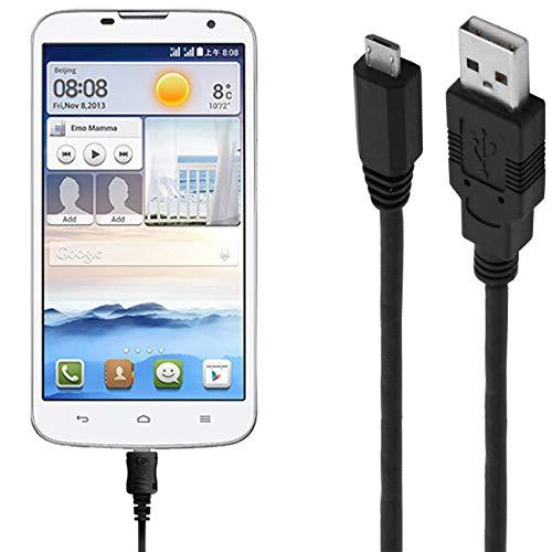 ASSMANN Ladekabel/Datenkabel kompatibel für Huawei Ascend G730 - schwarz - 1m