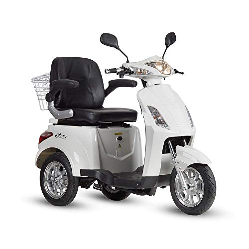 iamelectric Elektroroller Life, Fahrzeug elektrisches Dreirad, Roller für ältere Menschen, Moderner Und Ökologischer Scooter