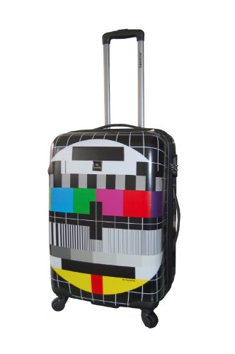 Saxoline Maletas y trolleys, 67 cm, 53 L, Negro