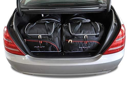 KJUST Reisetaschen 4 STK Set kompatibel mit Mercedes-Benz S W221 2005 - 2013