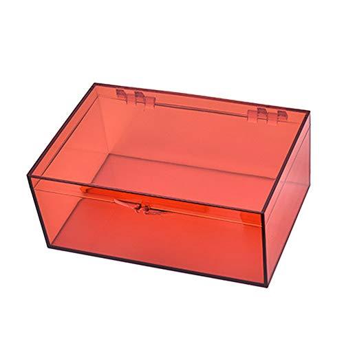 aoory Medizinaufbewahrung Notfallbox Medizinbox Erste-Hilfe-Set Medizinzubehör Aufbewahrungszubehör 182 x 125 x 73 mm.