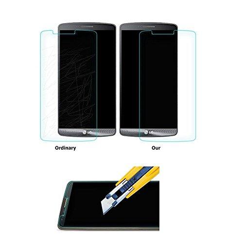 Protector de pantalla para LG G3 (cristal templado, dureza 9H, ultrafino, 0,26 mm)