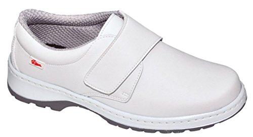 Dian Milán-scl - Zapato de trabajo unisex-adulto, talla 43, color blanco