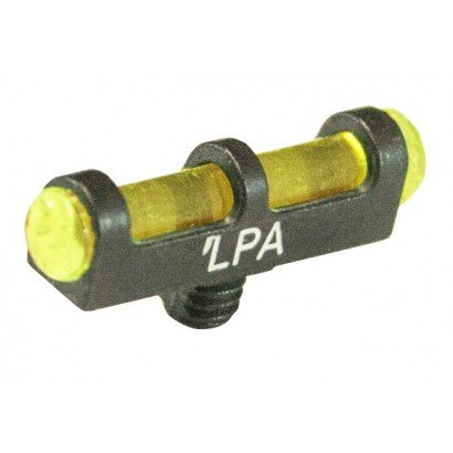 Learn More About Fusion/LPA Shotgun Front Fiber Optic Single Bead Shotgun Sight, 2.6mm/3-56 US Threa...