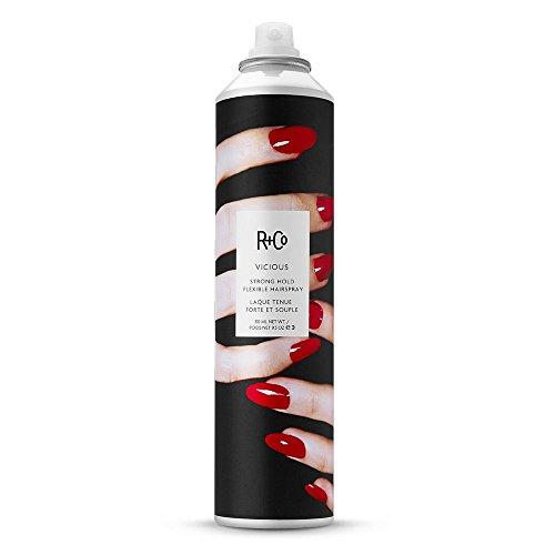 R+Co Vicious Strong Hold Flexible Hairspray, 9.5 Fl Oz