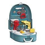 Ruby569y Juego de maquillaje de simulación, juego de niñas simulan juguetes, juguetes de cocina de simulación para niños, juego de herramientas de cajero de maquillaje, caja de mochila juguetes - C