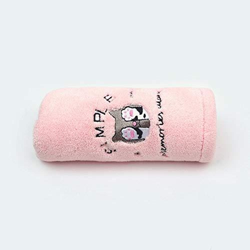 MAWA Toalla para Mujer Toalla de Microfibra de baño Toalla de baño de Secado rápido para Adultos - Gato Rosa, 25x65cm, a1