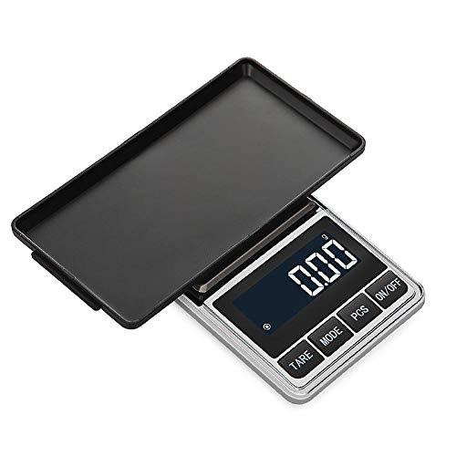 Mini Balanzas Digitales De Bolsillo De Precisión 0,01G / 0,1G Para Joyería De Ley, Balanza De Peso, Balanzas Electrónicas De 500G X 0,01Gbilancia Per Gioielli Ad Alta Precisione