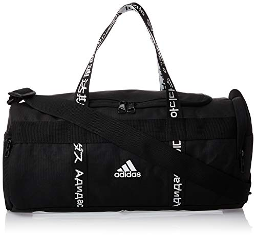 Adidas 4athlts Duf XS Gym Bag, Unisex Adulto, Black/Black/White, NS