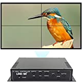 LINK-MI TV04M 2x2 Video Wall Controller USB+HDMI+DVI+VGA+AV TV HDMI with...