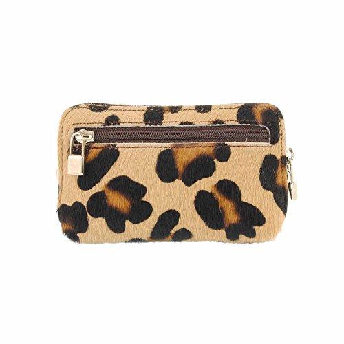 Monedero de piel leopardo