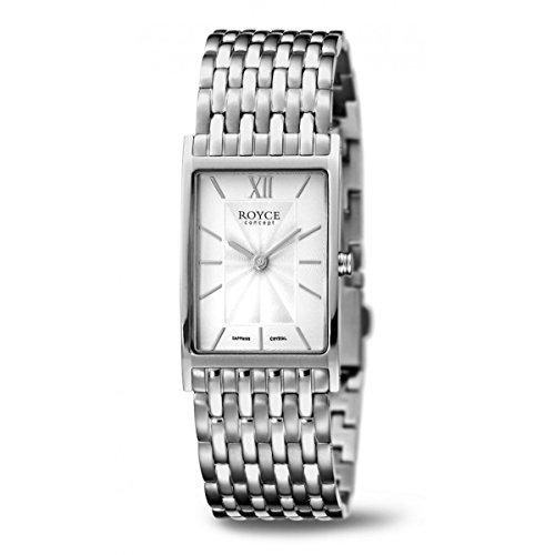 Boccia Damen Analog Quarz Uhr mit Titan Armband 3285-02