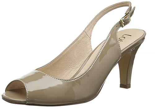 Lotus Zaria, Scarpe col Tacco con Cinturino Dietro la Caviglia Donna, Beige (Dk Nude Dc), 40 EU