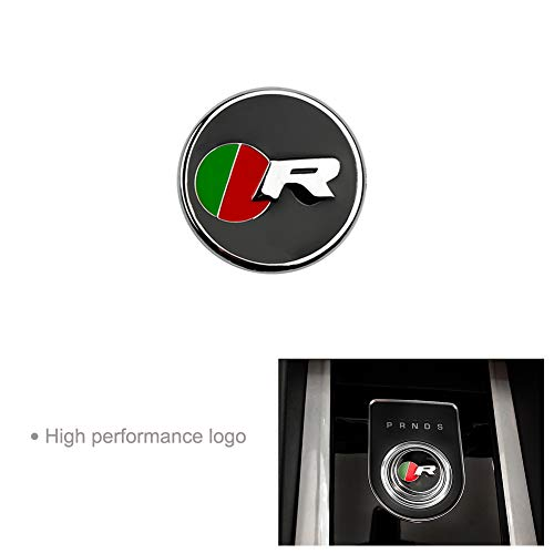 DEFTEN Car Interior Decoration Gear Shift Panel Frame Cover Trim Accessory for Jaguar XF XE XJ F-PACE(R Racing Models)