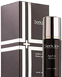 Sericin Plus Ageless Serum, Combat Visible Premature Aging Lines and Wrinkles, Silk Extract Deeply Hydrating and Moisturizing for Anti Aging and Skin Health SN20