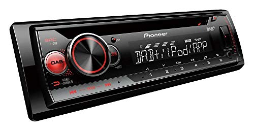 Pioneer DEH-S410DAB Coche Reproductor de CD Estéreo USB Aux Apple Android Control DAB+
