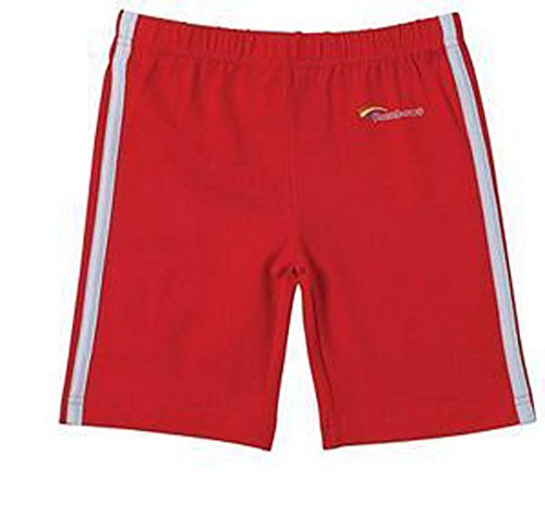 Rainbow Guide Lycra Fahrrad-Shorts, Radlerhose–Offizielle Rainbow Uniform Gr. Medium, rot