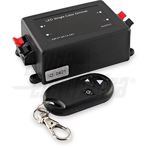 Controller DIMMER voor LED 12/24 V 4 A met afstandsbediening RF Original