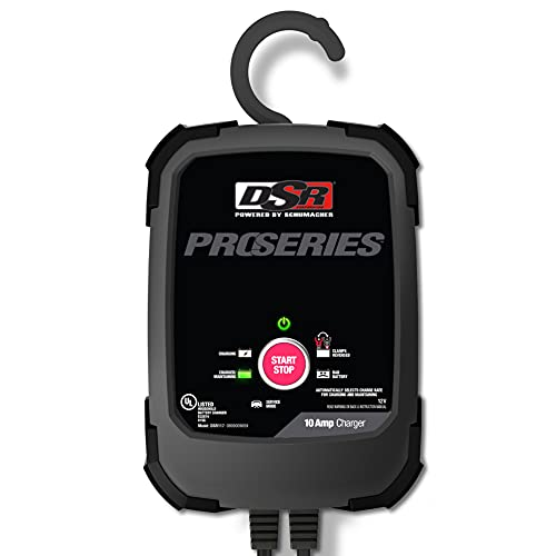 Schumacher DSR117 DSR Pro Series 10A 12V DOE Battery Charg