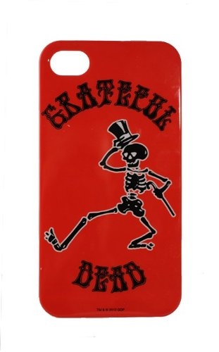 AUDIOLOGY GD18-01 Grateful Dead Fitted Hard Shell Cell Phone Case for iPhone 4/4S - 1 Pack - Retail Packaging - Skeleton