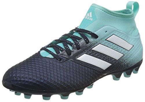 adidas Herren Ace 17.3 AG Fußballschuhe, Blau (Energy Aqua/Footwear White/Legend Ink), 44 2/3 EU