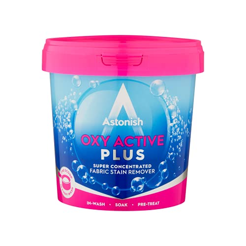 Astonish Oxy Active Plus - Smacchiatore per tessuti, multiuso, 500 g