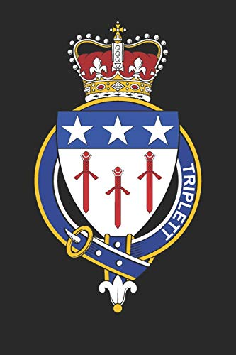 Triplett: Triplett Coat of Arms and Family Crest Notebook Journal (6 x 9 - 100 pages)