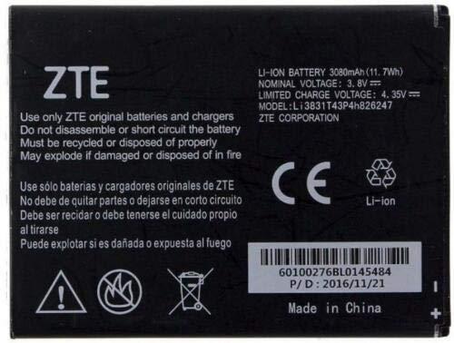 Battery for ZTE Li3831T43P4H826247 Battery Z959 Grand X 3 N9519 Warp 7 Zmax Z917VL Nowak Technology