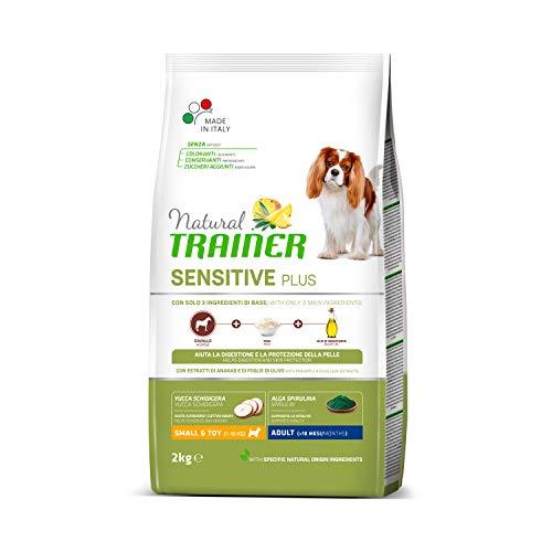 Trainer Natural Sensitive Plus - Cibo per Cani Mini-Toy Adulti con Cavallo e Riso - 2kg