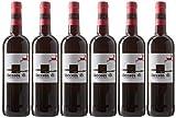Vacceos - Vino Tinto Roble, 6 Botellas x 750 ml