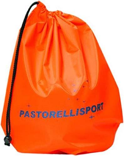 Pastorelli Soporte para pelotas de gimnasia rítmica en nailon, color naranja