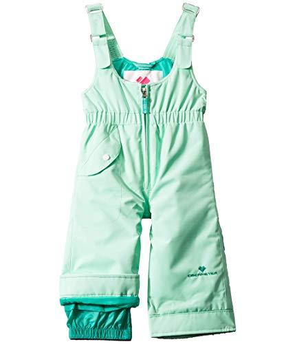 Obermeyer Kids Girl's Snoverall Pants (Toddler/Little Kids/Big Kids) Winter-Green 4T (Toddler)