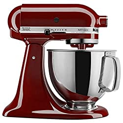 in budget affordable KitchenAid KSM150PSGC Artisan Series 5-Qt.Stand Mixer with Protective Shield-Gloss Cinnamon