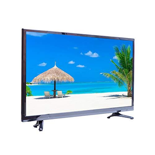 CYYAN Smart TV 4K de Ultra Alta definición, TV de Pantalla Plana con Marco ultradelgado, TV Que Ahorra energía (Color: Negro)