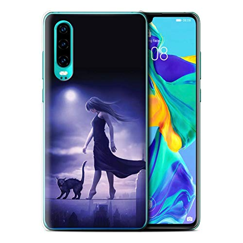 Elena Dudina eSwish telefoonhoesje/Cover/Skin/HUAGP-CC/Dark Magic Collection Huawei P30 2019 Slaapwandelaar/slapeloosheid