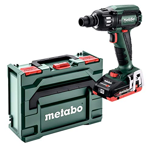 Metabo Akku-Schlagschrauber SSW 18 LTX 400 BL (602205800) Kunststoffkoffer 18V 2x4Ah LiHD + ASC 55